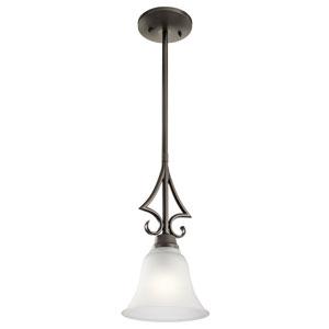Bixler Olde Bronze LED One-Light Mini Pendant