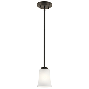 Tao Olde Bronze 5-Inch One-Light Mini Pendant