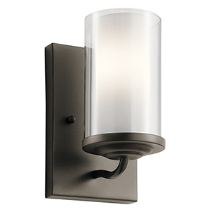 Lorin Olde Bronze 5-Inch One-Light Wall Bracket