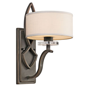 Leighton Olde Bronze One-Light Wall Sconce