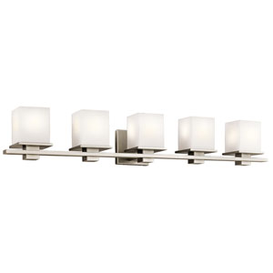 Tully Antique Pewter Five-Light Bath Sconce