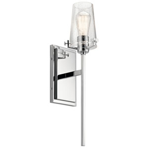 Alton Chrome 5-Inch One-Light Wall Sconce