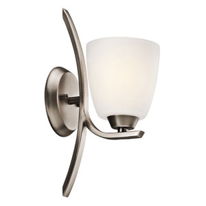 Granby Brushed Pewter One-Light Bath Fixture