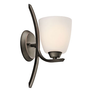 Granby Olde Bronze One-Light Bath Fixture