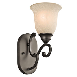 Camerena Olde Bronze One-Light Wall Sconce