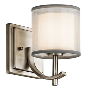 Tallie Antique Pewter One-Light Wall Sconce