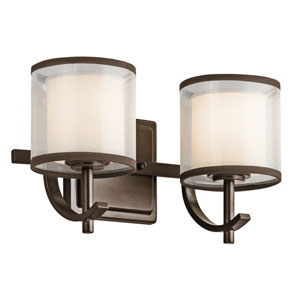 Tallie Mission Bronze Two-Light Vanity