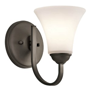 Keiran Olde Bronze One-Light Wall Sconce