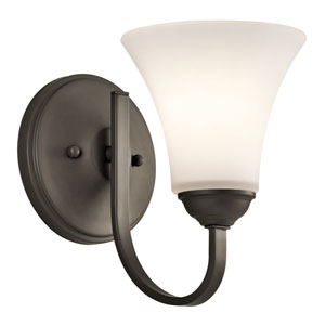 Keiran Olde Bronze 6-Inch One-Light Energy Star Wall Sconce