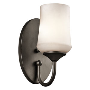 Aubrey Olde Bronze One-Light Wall Sconce