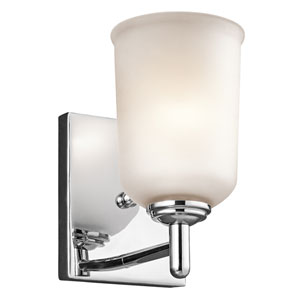 Shailene Chrome One-Light Wall Sconce