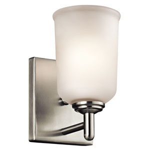 Shailene Brushed Nickel One-Light Wall Sconce