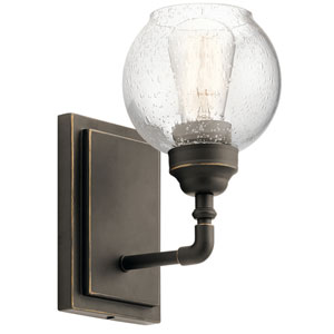 Niles Olde Bronze 6-Inch One-Light Wall Sconce