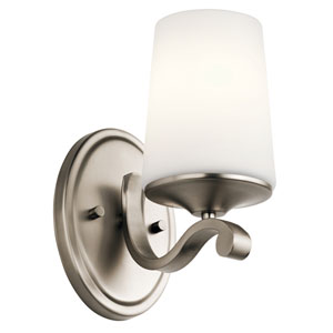 Versailles Antique Pewter 5-Inch One-Light Wall Sconce