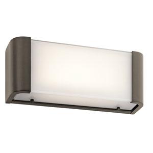 Landi Olde Bronze One-Light LED Bath Bar