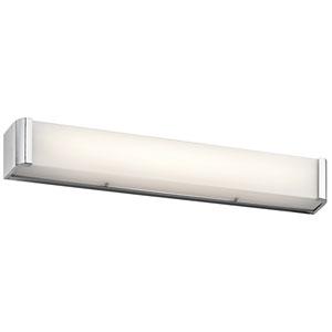 Landi Chrome Three-Light LED Bath Bar