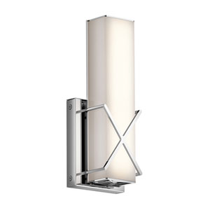 Trinsic Chrome 12-Inch LED Wall Sconce