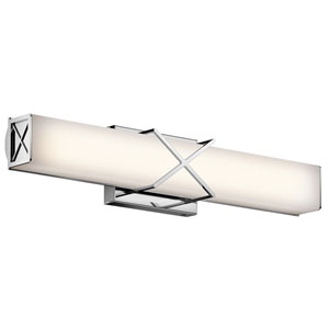Trinsic Chrome LED Bath Bar