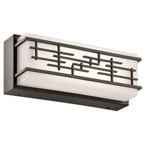 Zolon Olde Bronze 12.5-Inch LED Linear Bath Bar