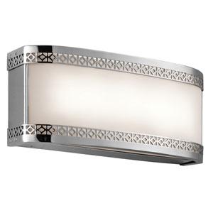 Contessa Chrome Two-Light LED Bath Bar