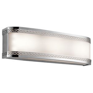Contessa Chrome Three-Light LED Bath Bar