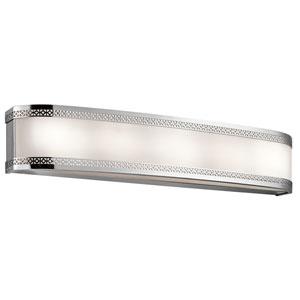 Contessa Chrome Six-Light LED Bath Bar
