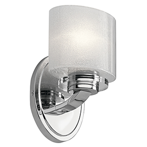 Archer Chrome 6-Inch One-Light Wall Sconce