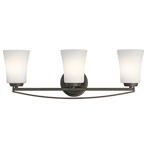 Tao Olde Bronze 24-Inch Three-Light Bath Light