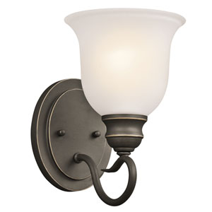 Tanglewood Olde Bronze 6-Inch One-Light Energy Star Wall Sconce