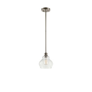 Schoolhouse Classic Pewter One-Light Mini Pendant