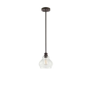 Schoolhouse Oil Rubbed Bronze One-Light Mini Pendant