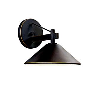 Ripley Olde Bronze One-Light Outdoor Wall Light