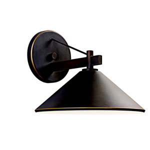 Ripley Olde Bronze One-Light Outdoor Wall Light