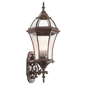 New Street USA Tannery Bronze Three-Light Outdoor Wall Mount
