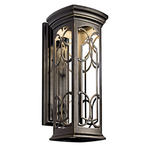 Franceasi Dark Sky Olde Bronze One-Light LED 22-Inch Wall Mount
