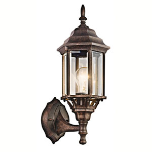 Chesapeake Tannery Bronze One-Light Outdoor Wall Mount