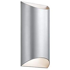 Wesly Platinum 14-Inch LED Outdoor Wall Sconce