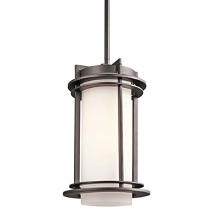 Pacific Edge Architectural Bronze Outdoor Pendant - Width 8 Inches