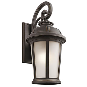 Ralston Rubbed Bronze One-Light Outdoor Wall