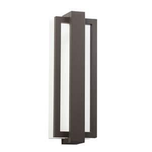 Sedo Architectural Bronze 12-Light LED Outdoor Small Wall Sconce
