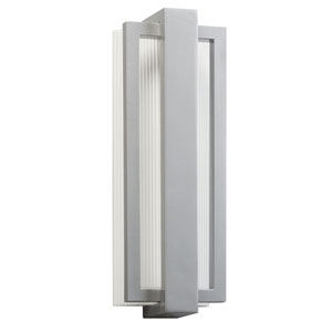 Sedo Platinum 12-Light LED Outdoor Small Wall Sconce