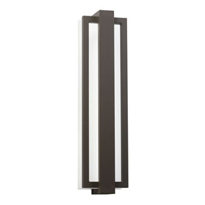 Sedo Architectural Bronze 6-Inch 12 LED Light Outdoor Small Wall Sconce