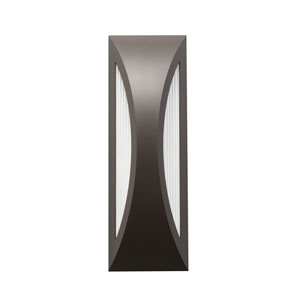 Cesya Architectural Bronze 10-Light LED Outdoor Small Wall Sconce