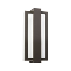Sedo Architectural Bronze Six Light LED Outdoor Small Wall Sconce