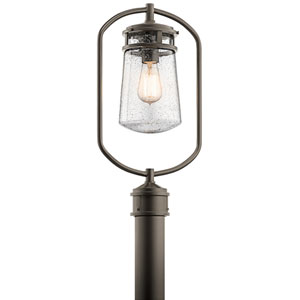 Lyndon Architectural Bronze One-Light Outdoor Post Lantern