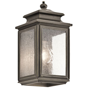 Wiscombe Park Olde Bronze One-Light Outdoor Wall