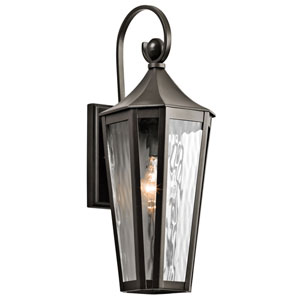 Rochdale Olde Bronze One Light Medium Outdoor Wall Sconce