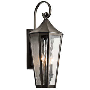 Rochdale Olde Bronze Two Light Medium Outdoor Wall Sconce