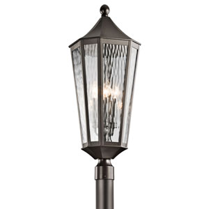 Rochdale Olde Bronze Four Light Outdoor Post Lantern