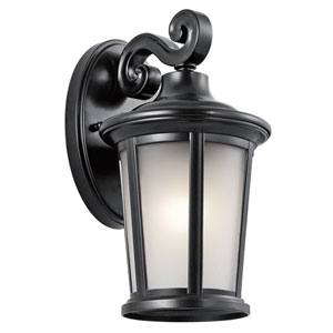 Turlee Black 6-Inch One-Light Outdoor Wall Mount